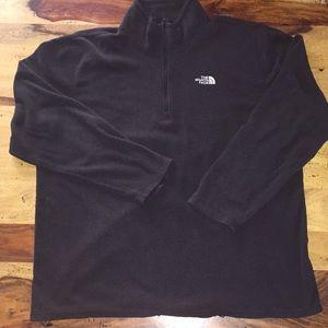 North Face 3/4 zip fleece. Men's XL